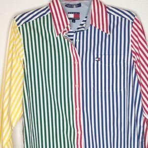Tommy Hilfiger Vintage 90's Button Up Top